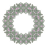 Modelo circular en estilo árabe Fotografía de archivo libre de regalías