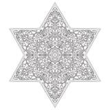 Modelo circular Ornamento étnico islámico para la cerámica, tejas, materias textiles, tatuajes Fotos de archivo libres de regalías