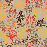 Modelo circular, tribal con adornos de las tribus africanas Surma y Mursi Foto de archivo