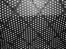 Modelo circular y fachada geométrica Foto de archivo libre de regalías