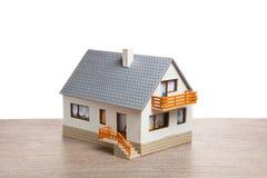 Modelo clásico de la casa Fotos de archivo