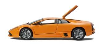 Modelo cobrable del coche deportivo del juguete foto de archivo