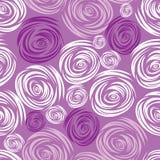 Modelo color de rosa del color de rosa inconsútil del vector Foto de archivo