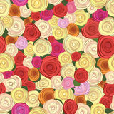 Modelo color de rosa inconsútil Fotos de archivo libres de regalías