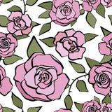 Modelo color de rosa incons?til libre illustration