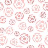 Modelo color de rosa simple Imagen de archivo