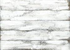 Modelo coloreado blanco de madera de madera del tablón del fondo foto de archivo libre de regalías