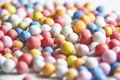 Modelo coloreado de los caramelos Imagen de archivo