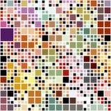 Modelo coloreado en colores pastel de los bloques Imagen de archivo