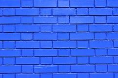 Modelo coloreado texturizado pared azul del fondo Imagenes de archivo