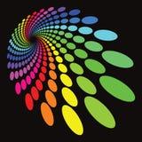 Modelo colorido Fotografía de archivo libre de regalías