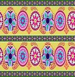 Modelo colorido abstracto de la impresión de bloque stock de ilustración