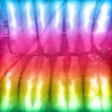Modelo colorido abstracto del fondo de la textura de la tela del teñido anudado Fotos de archivo