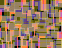 Modelo colorido al azar 3 del bloque imagenes de archivo