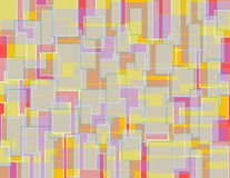 Modelo colorido al azar 2 del bloque fotos de archivo