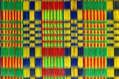Modelo colorido de la estera Fotografía de archivo