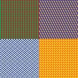 Modelo colorido de la ilusión cuatro Fotos de archivo libres de regalías