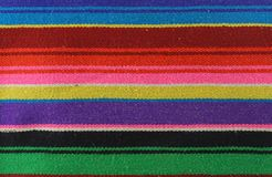 Modelo colorido de la materia textil Fotos de archivo