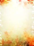Modelo colorido de la plantilla de las hojas de otoño EPS 10 Imagenes de archivo