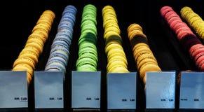 Modelo colorido de las galletas Imagen de archivo libre de regalías