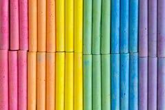Modelo colorido del fondo de la tiza Imagen de archivo libre de regalías