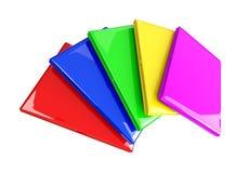 Modelo colorido dos portáteis 3d Imagem de Stock