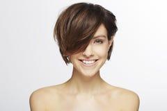Modelo com cabelo elegante Foto de Stock Royalty Free