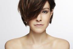 Modelo com cabelo elegante Fotos de Stock