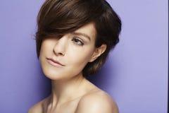 Modelo com cabelo elegante Imagem de Stock Royalty Free