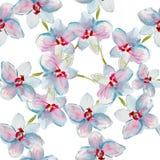 Modelo con las orquídeas