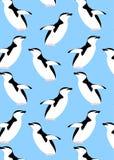 Modelo con los animales del pingüino
