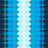 Modelo con los cuadrados azules Imagen de archivo libre de regalías