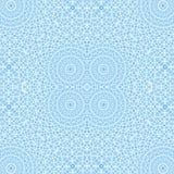 Modelo concéntrico azul ilustración del vector