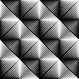 Modelo convexo cuadrado inconsútil del diseño ilustración del vector