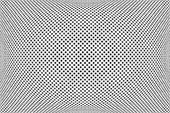 Modelo convexo El extracto comprobó textura de los puntos libre illustration
