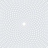 Modelo convexo geométrico de la rotación Dise?o abstracto ilustración del vector