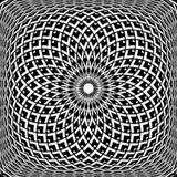 Modelo convexo geom?trico de la rotaci?n Dise?o del extracto del arte de Op. Sys. libre illustration