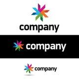 Modelo corporativo del diseño de la insignia Imagen de archivo libre de regalías