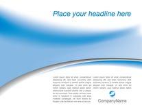 Modelo corporativo del Web site Foto de archivo libre de regalías