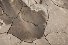 Modelo creado de una tierra agrietada de la foto Tiempo seco, sequía imagenes de archivo