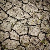 Modelo creado de una tierra agrietada de la foto Tiempo seco, sequía imagen de archivo