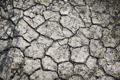 Modelo creado de una tierra agrietada de la foto Tiempo seco, sequía foto de archivo libre de regalías