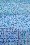 Modelo cuadrado abstracto en color azulado del aqua. Fotos de archivo