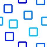 Modelo cuadrado azul Fotografía de archivo libre de regalías