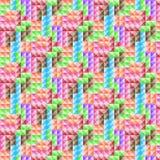 Modelo cuadrado colorido Fotos de archivo
