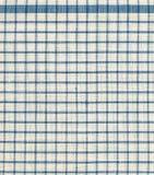 Modelo cuadrado de la materia textil Imagen de archivo