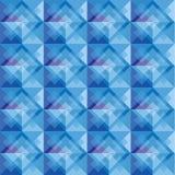 modelo cuadrado del fondo del ฺBlue Foto de archivo libre de regalías