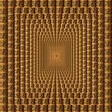 Modelo cuadrado del vector griego geom?trico moderno 3d Teja Fondo abstracto texturizado ornamental Repita el contexto modelado r ilustración del vector