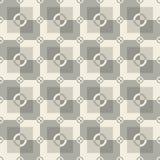 Modelo cuadrado en colores grises y blancos Fotografía de archivo