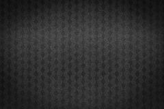 Modelo cuadrado en fondo negro Fotos de archivo